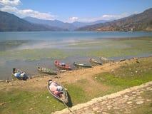 Lago de Pokhara Imagen de archivo libre de regalías