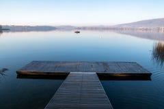 Lago de Pusiano fotografía de archivo