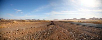 Lago de sal de Sossusvlei Imagen de archivo