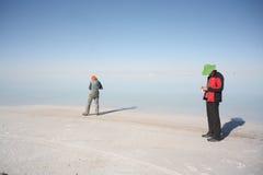Lago de sal de Uyuni Bolivia fotos de archivo