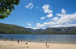Lago de Sanabria, Испания стоковые изображения rf