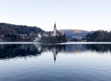 Lago de sangrado Imagen de archivo