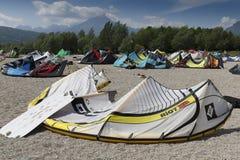 Lago de Santa Croce Fotografía de archivo libre de regalías