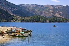 Lago de Scanno Fotografia de Stock