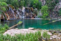 Lago de suspensão no estado de Colorado, EUA fotos de stock