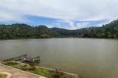 Lago de Tacambaro Стоковое Изображение