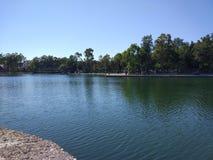 Lago de temblor antalya Manavgat Foto de archivo