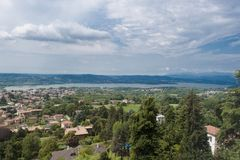 Lago de Varese Foto de Stock