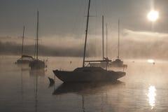 Lago de Viverone Fotos de Stock Royalty Free