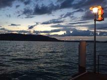 Lago de Zurique Fotografia de Stock