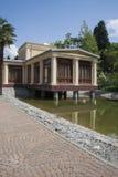 Lago decorativo com jardim Fotografia de Stock