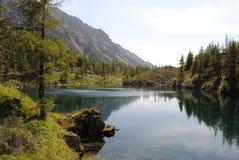 Lago degli alcoolici della montagna Fotografie Stock Libere da Diritti