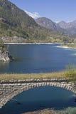At the Lago dei Tramonti in Friuli Royalty Free Stock Photography