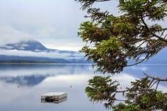 Lago del blu della montagna Fotografie Stock