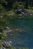 Lago del carezza Imagen de archivo