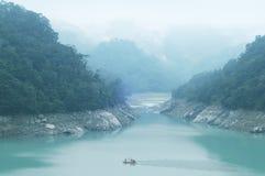 Lago del depósito de Shihmen Imagen de archivo libre de regalías