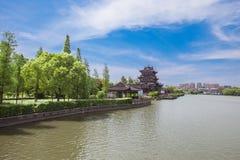 Lago del este de Pinghu China imagen de archivo