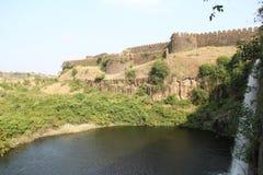 Lago del fuerte de Nalgurg imagen de archivo