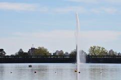 Lago del Fuerte em Tandil fotos de stock