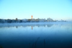 Lago del jardín botánico Fotografía de archivo libre de regalías