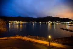 Lago del kawaguchiko de Japón Fotos de archivo