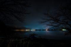 Lago del kawaguchiko de Japón Foto de archivo libre de regalías