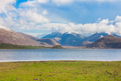 Lago del Matese Royalty Free Stock Photo