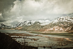Lago del Matese Royalty Free Stock Photography