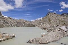 Lago del Miage in Val Veny Royalty Free Stock Photo