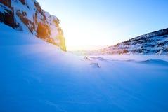 Lago del nord winter Fotografia Stock