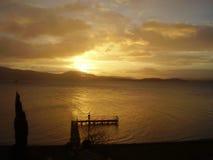 Lago 1 del paesaggio della Scozia Immagine Stock Libera da Diritti