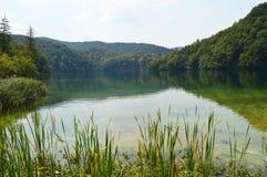 Lago del parque de Plitvice Fotos de archivo