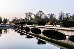 Lago del parque del villancico Imágenes de archivo libres de regalías