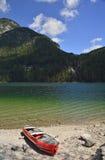 Lago del Predil Στοκ Εικόνες