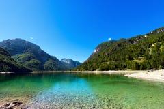 Lago del Predil - Friuli Italy Royalty Free Stock Images