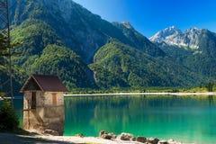 Lago del Predil - Friuli Italy Stock Image