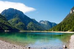 Lago del Predil - Friuli Italy Royalty Free Stock Image