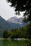 Lago del Predil Stock Photo