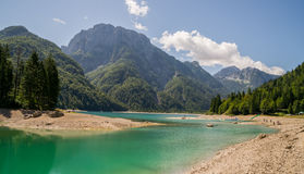 Lago del Predil Stock Photography