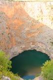 Lago del rojo de Croacia imagen de archivo libre de regalías