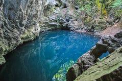 Lago del ` s del diavolo Fotografia Stock Libera da Diritti