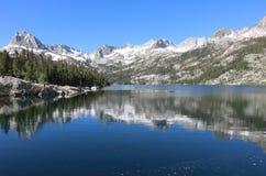 Lago del sud Fotografia Stock