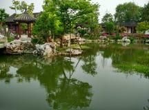 Lago del sur en provincia de jiaxing, Zhejiang, China, en 2015 fotos de archivo libres de regalías
