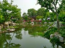 Lago del sur en provincia de jiaxing, Zhejiang, China, en 2015 Fotos de archivo