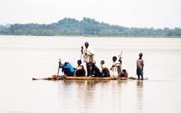 Lago del tana de la navegación Foto de archivo libre de regalías