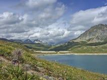 Lago del Toggia Royalty Free Stock Photo