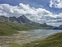 Lago del Toggia  in Formazza valley Royalty Free Stock Photo