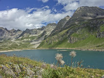 Lago del Toggia  in Formazza valley Stock Images