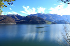 Lago del Turano Photo stock