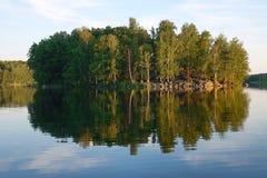 Lago del Ural del sud Immagine Stock Libera da Diritti